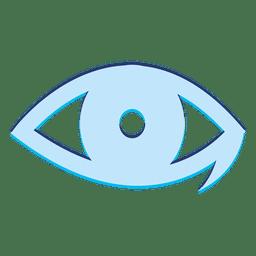 Oftalmología ojo logo