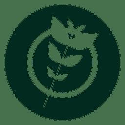 Organic branch logo