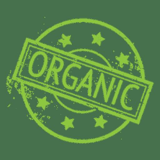Bio-Lebensmittel Ökologie Label Abzeichen Transparent PNG