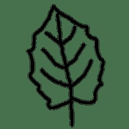 Folha de bordo de contorno