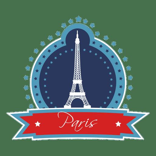 Emblema de hito de paris Transparent PNG