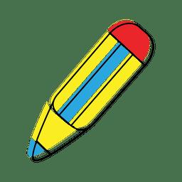 Bleistift schreiben Symbol