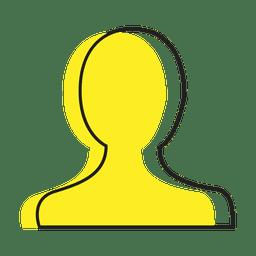 Icono de usuario de la persona