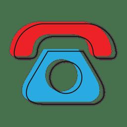 Ícone de bate-papo de mensagem de telefone