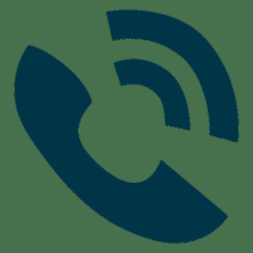 Icono de timbre del telefono Transparent PNG
