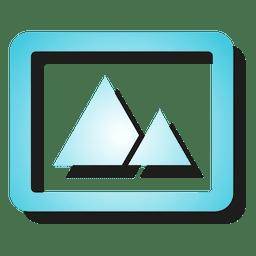 Fotorahmen-Symbol