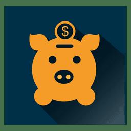 Schwein-Quadrat-Symbol