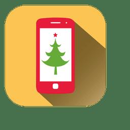 Ícone móvel de pinheiro