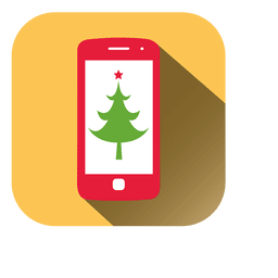 Pine tree mobile icon