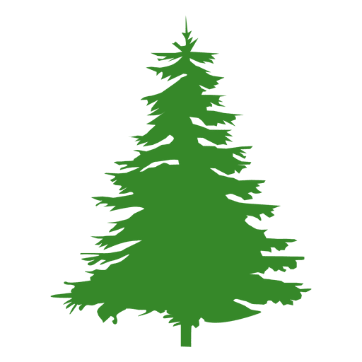 Pine tree silhouette - Transparent PNG & SVG vector