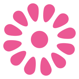 Pink floral icon