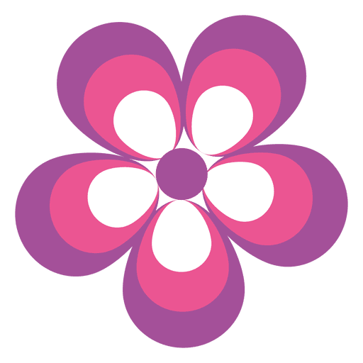 Pink purple flower icon transparent png svg vector pink purple flower icon transparent png mightylinksfo