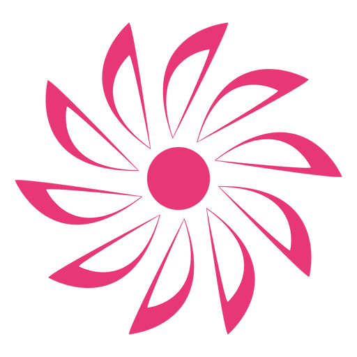 Pink starry flower icon transparent png svg vector pink starry flower icon transparent png mightylinksfo