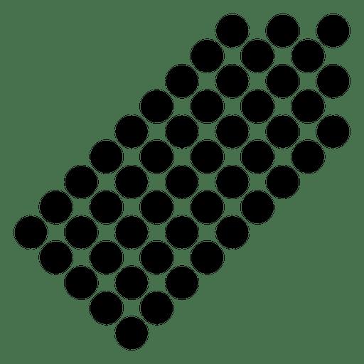Pixilated right corner arrow Transparent PNG