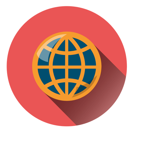 Planet round icon Transparent PNG