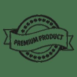 Emblema de producto premium