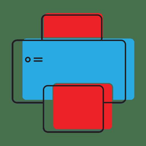 Printer print icon