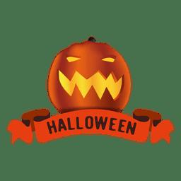 Fita de abóbora de halloween