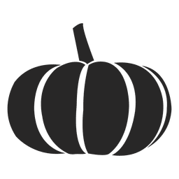 silhueta abóbora
