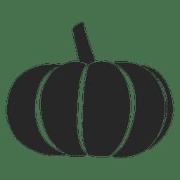 silueta de la calabaza