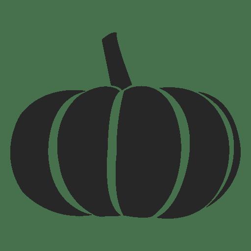 Pumpkin silhouette Transparent PNG