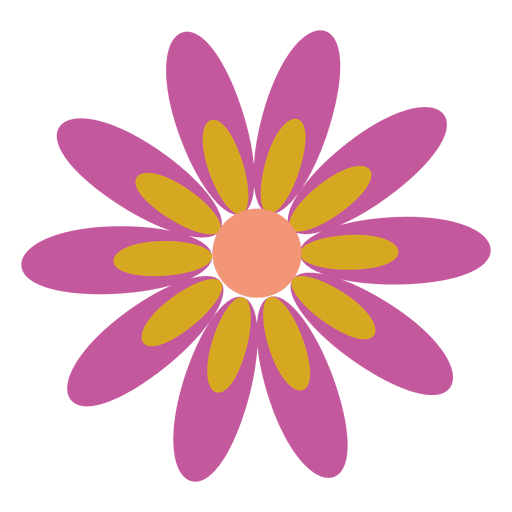Purple flower icon 5 transparent png svg vector purple flower icon 5 transparent png mightylinksfo