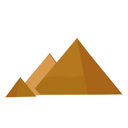 Dibujos animados de pirámide Transparent PNG