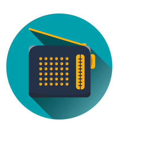 Radio round icon - Transparent PNG & SVG vector file