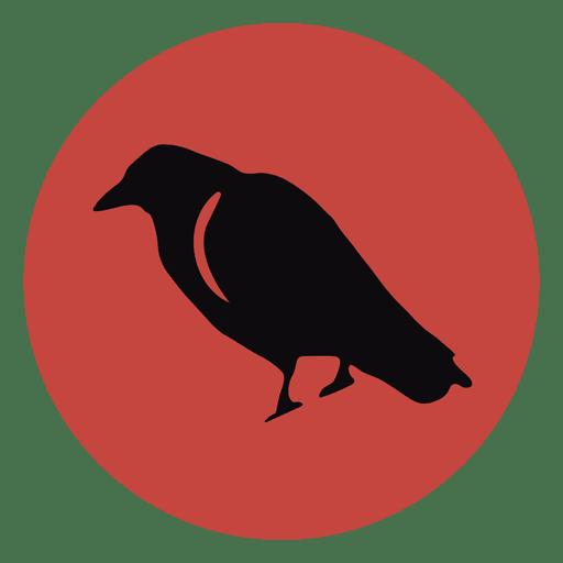 Raven circle icon 1
