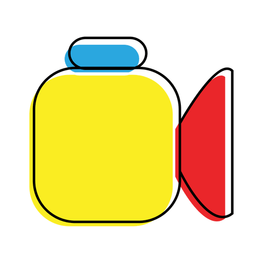 Colored Record Icon  Transparent PNG