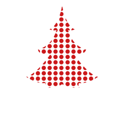 Pino punteado rojo