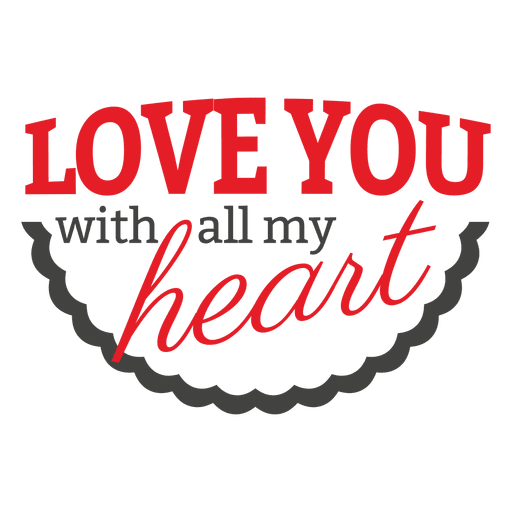Red grey valentine label Transparent PNG