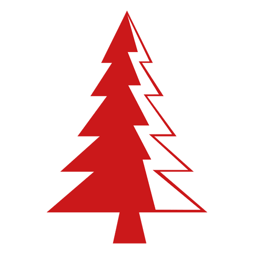 Red Pine Tree Icon Png