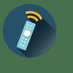 Remote round icon