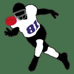 Jogador de rugby captura