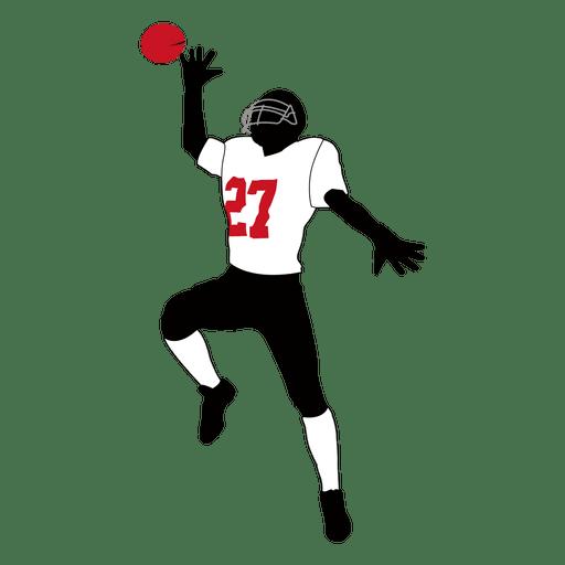 Jogador de rúgbi captura 2 Transparent PNG