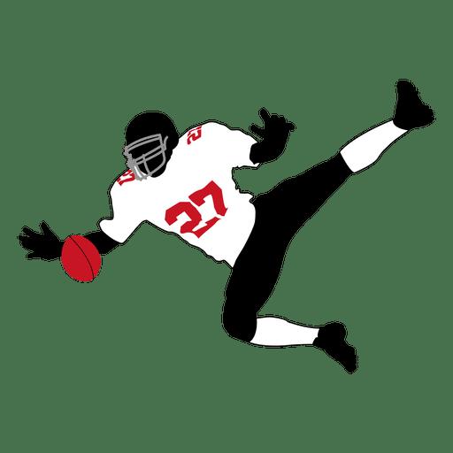 Jogador de rúgbi captura 3 Transparent PNG