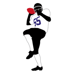 Rugby player throwing 2