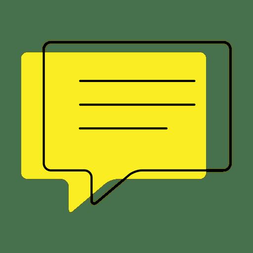 Enviar mensaje icono de desplazamiento Transparent PNG