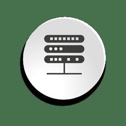 Icono de burbuja de servidor