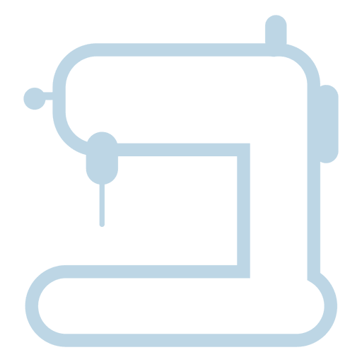 Sewing machine line icon Transparent PNG
