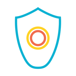 Shield virus protector icon