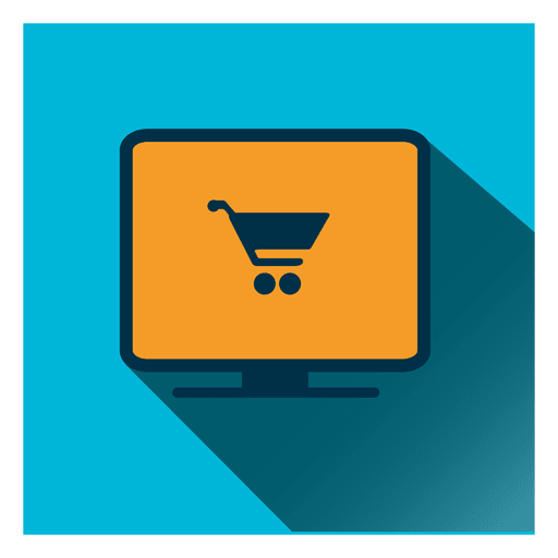 Shopping cart display icon Transparent PNG