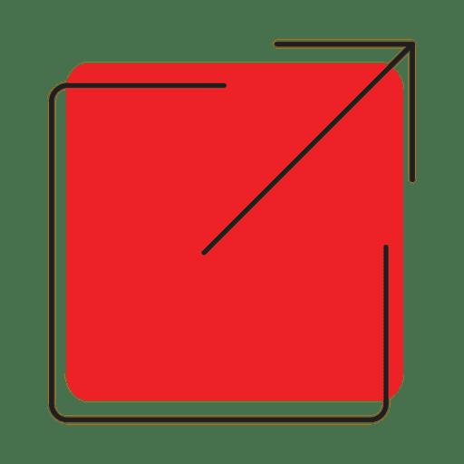 Minimalist Size Resize Icon Transparent PNG