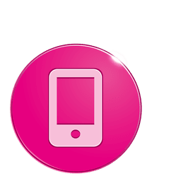 ícone da bolha Smartphone
