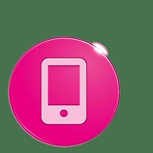 Smartphone bubble icon - Transparent PNG & SVG vector file