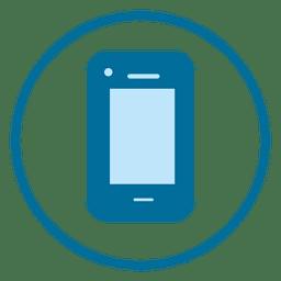 Icono de anillo de teléfono inteligente