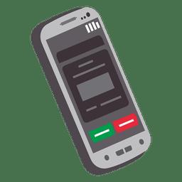 Icono de la interfaz de usuario de smartphone