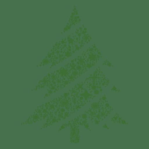 Schneeflocke Weihnachtsbaum Transparent PNG