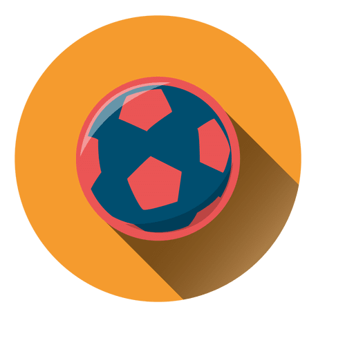 Soccer ball circle icon Transparent PNG